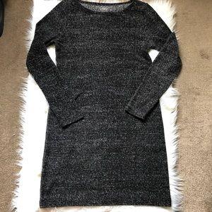 LOFT Ann Taylor Gray Dress